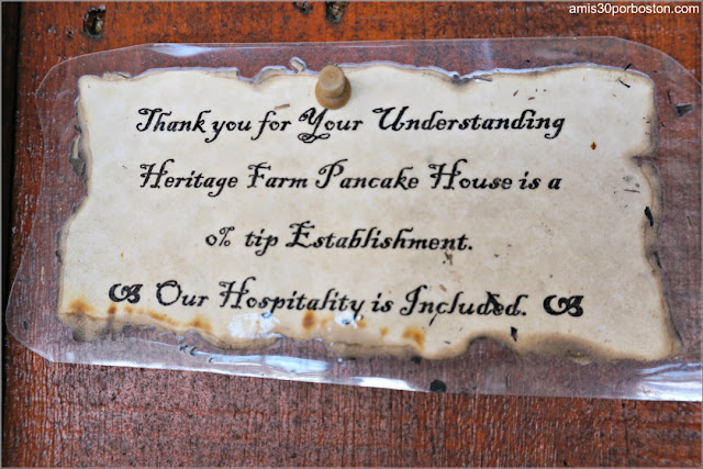 Restaurante Heritage Farm Pancake House en New Hampshire