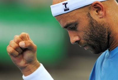 Black Tennis Pro's James Blake Wild Card at 2011 BNP Paribas Open