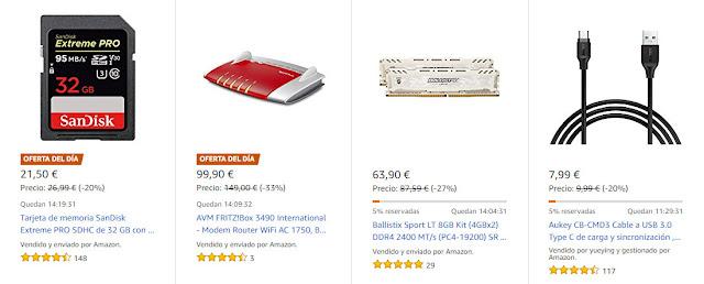8 buenas Ofertas Flash y Diarias de Amazon para el 16_08