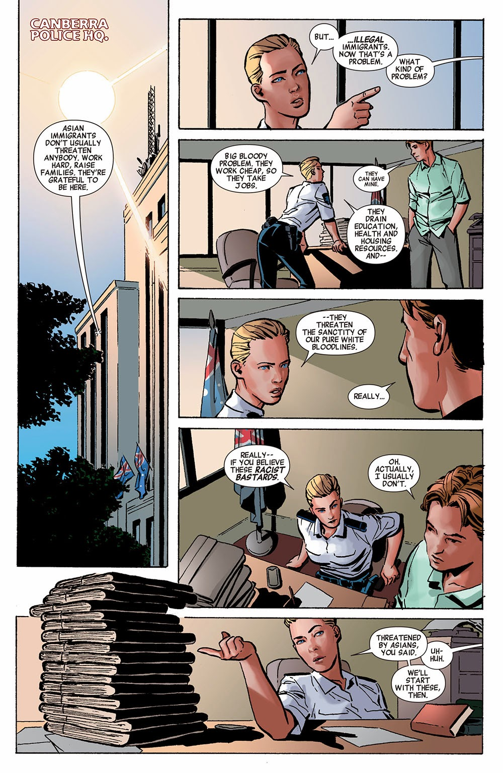 Dexter Down Under 01 (of 5) (2014) ………… | Viewcomic reading