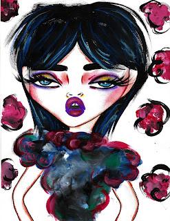 Bebee Pino dark flowers
