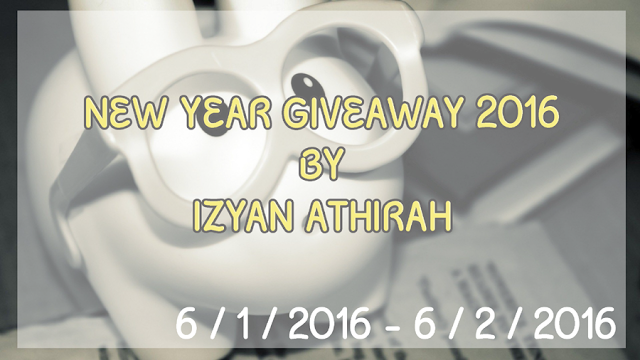 new year giveaway by izyan athirah