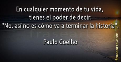 Motivaciones de Paulo Coelho en frases.