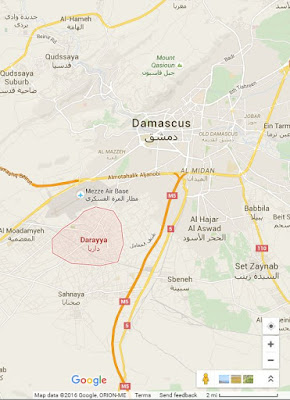 daraya damaskus syria