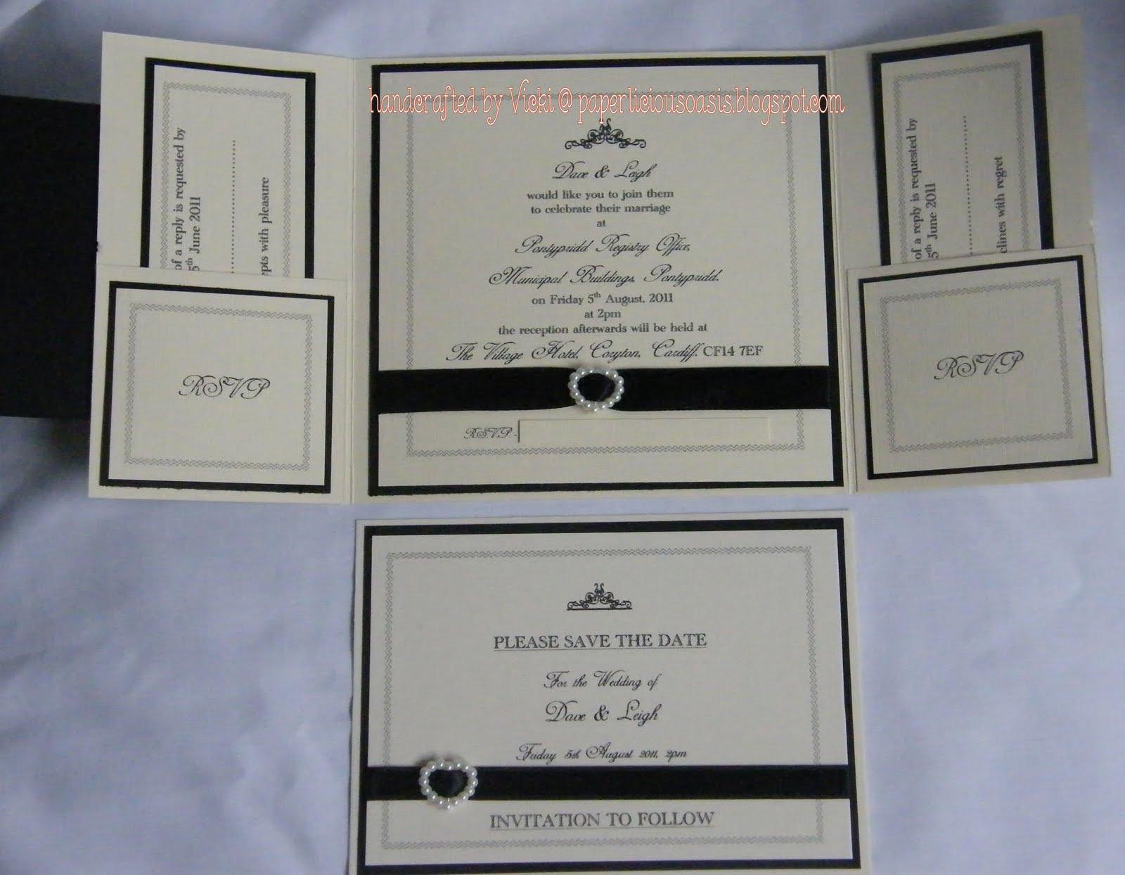 Inside Of Wedding Invitations | PaperInvite
