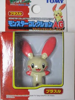 Plusle figure Tomy Monster Collection AG series