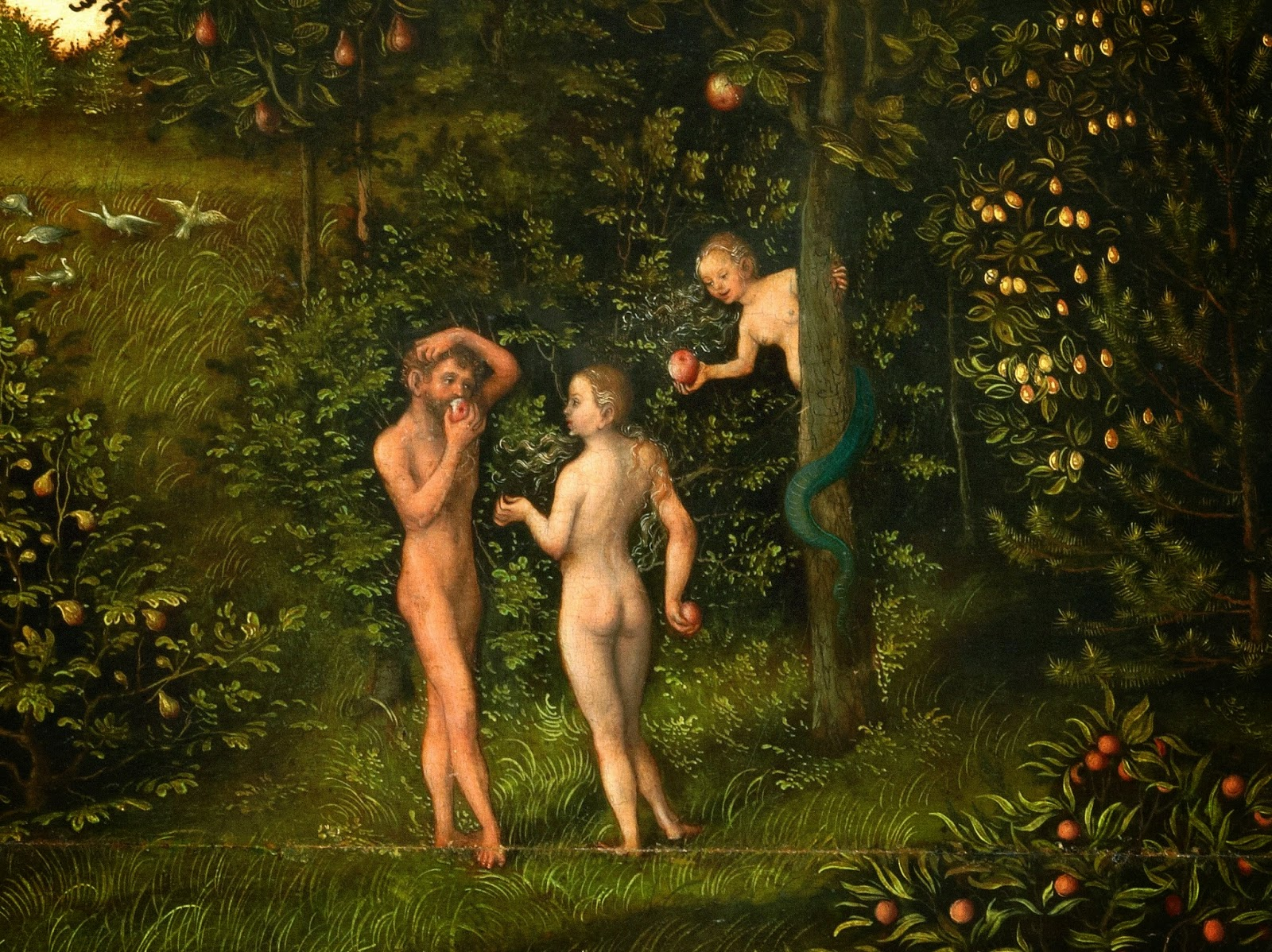 The Fall of Man de Lucas Cranach