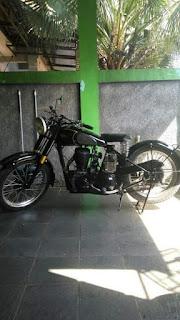 Jual Motor Tua BSA 500cc Sidevalve 1949