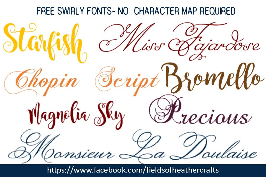Fields Of Heather: Free Alternatives To The Samantha Font