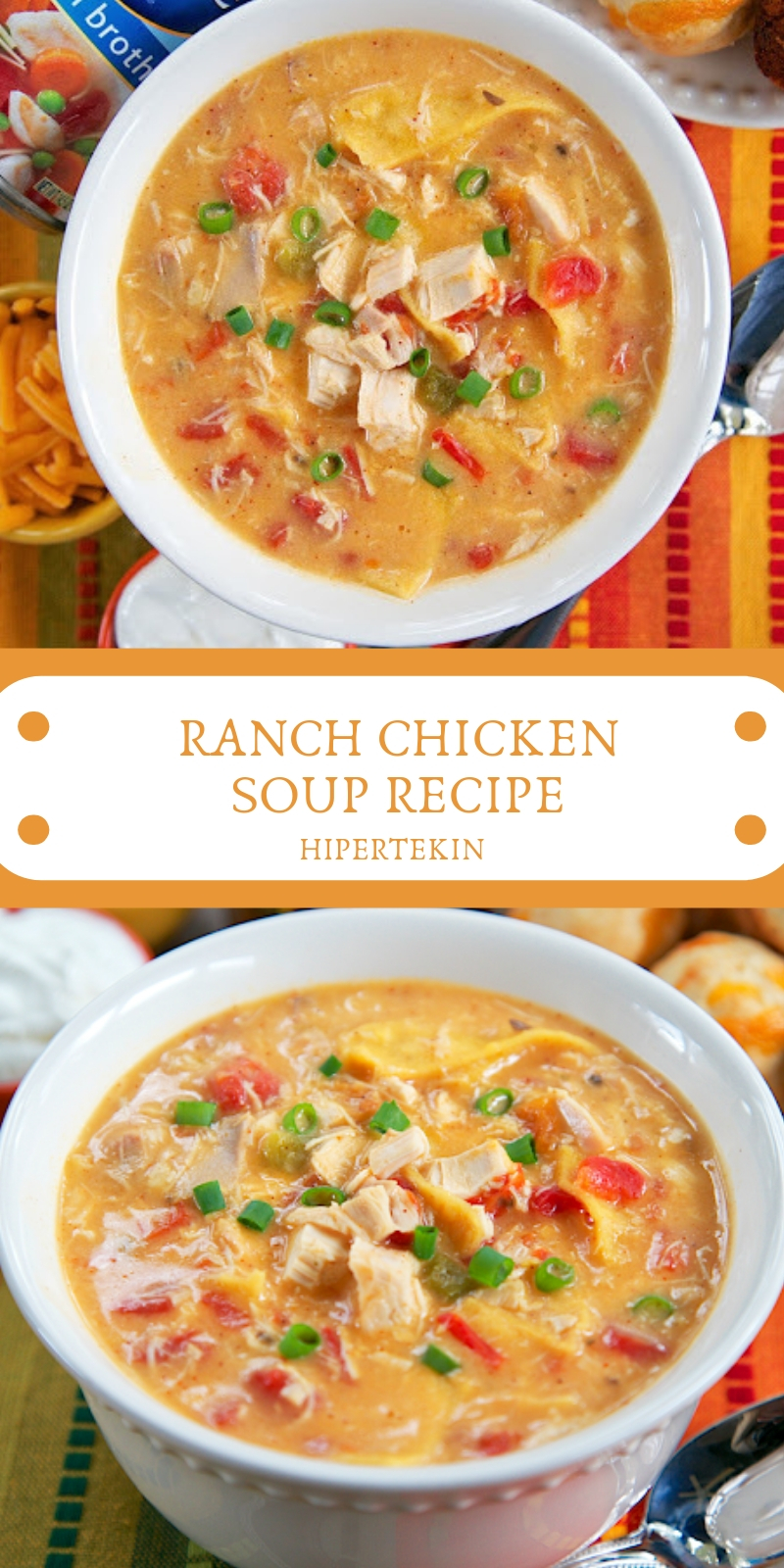 RANCH CHICKEN SOUP RECIPE