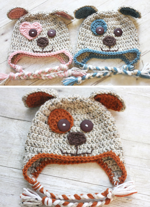 Puppy Hat - Free Pattern