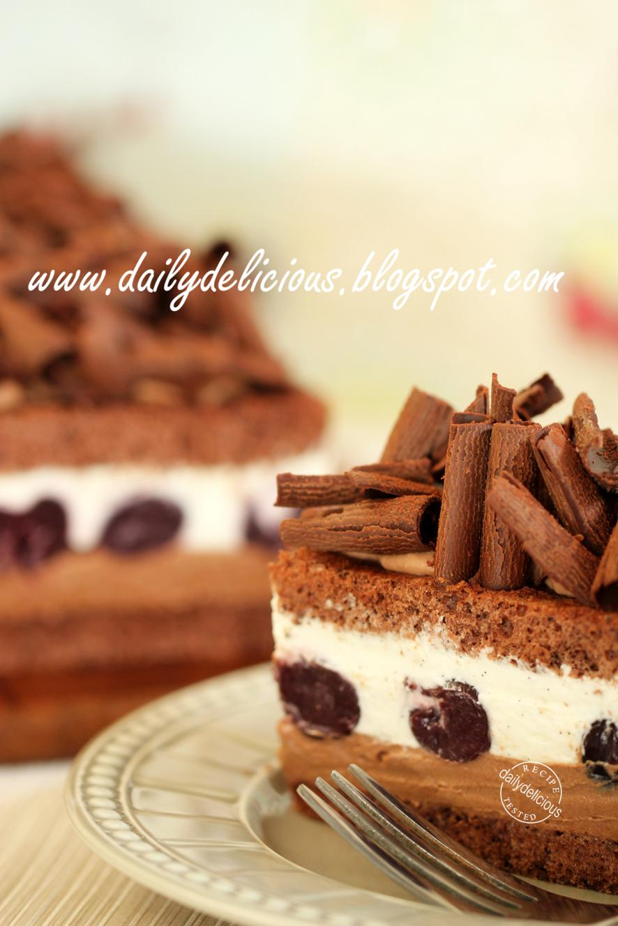 Black Forest Ice Cream Cake Online
