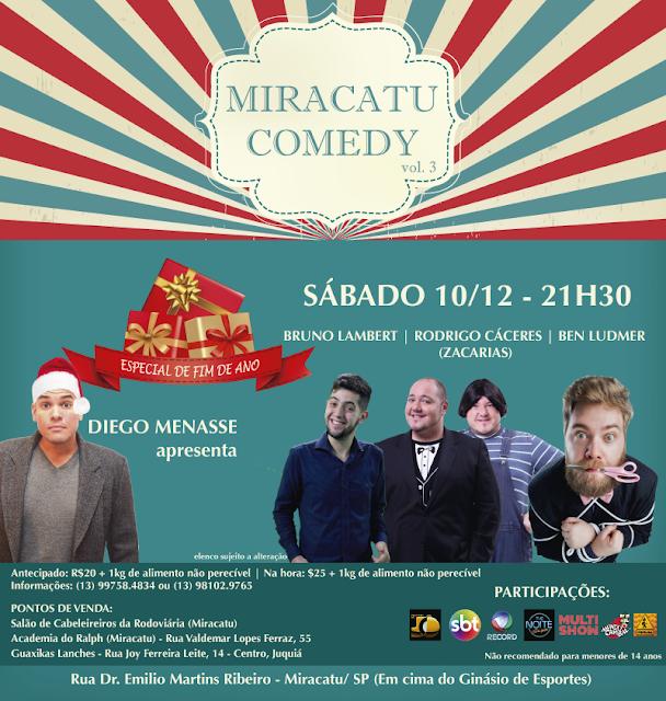 Miracatu Comedy não percam neste 10/12
