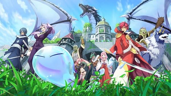 Anime - Slime Sang Penguasa Monster di Dunia Fantasi, Tensei shitara Slime Datta Ken