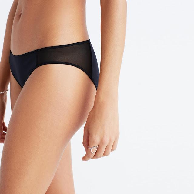 Madewell Mesh Trimmed Bikini
