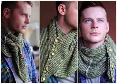 Bufanda-Cuellos tejidos para Hombres