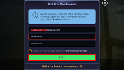 Panduan Cara Daftar Akun Moonton Mobile Legend 2018