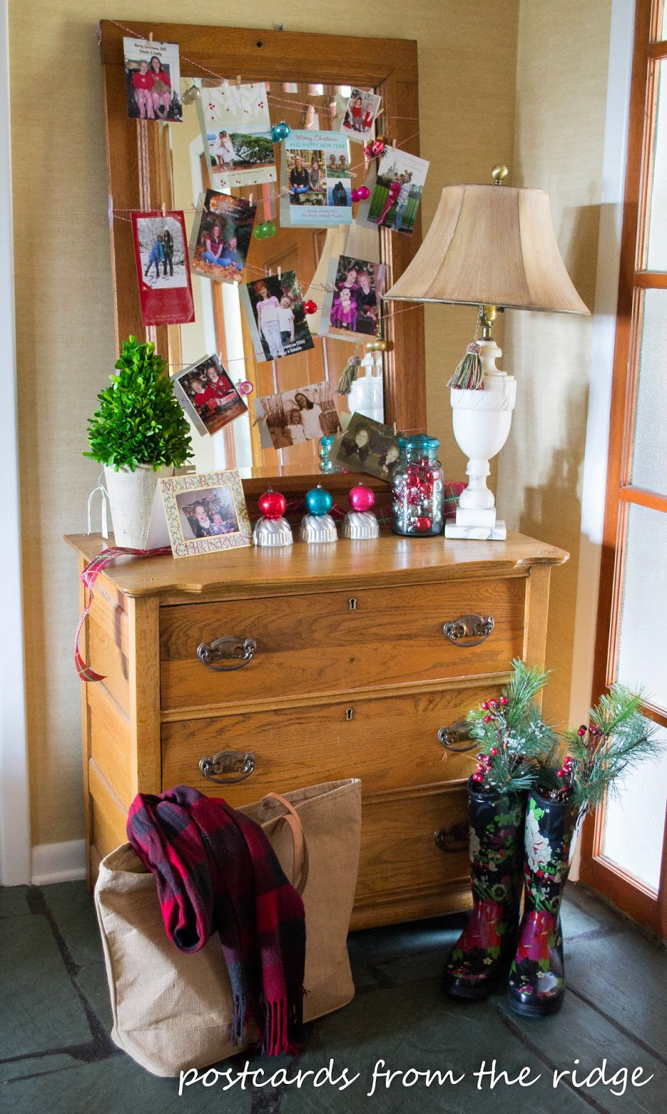 Simple and cozy, I love this Christmas entry! Lots of great ideas on this site.