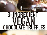 3-Ingredient Vegan Chocolate Truffles