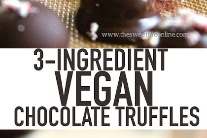 3-Ingredient Vegan Chocolate Truffles