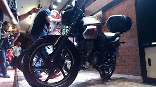 Harga Aksesories Resmi Honda CB150 Verza