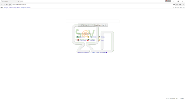 Search.bearshare.net (Hijacker)
