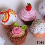 patron gratis cupcake amigurumi, free amiguru pattern cupcake