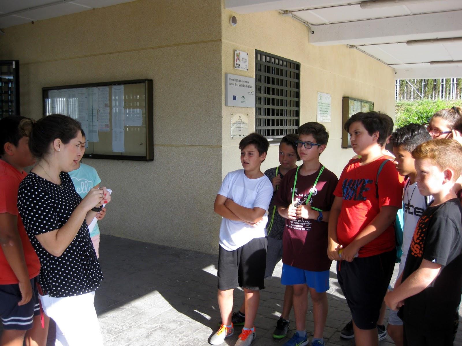 Bibliotecajacaranda visita al ies benalm dena for Ceip llamados