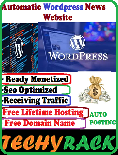 Ready Monetized Wordpress Website