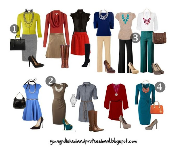 specifics for women's business casual