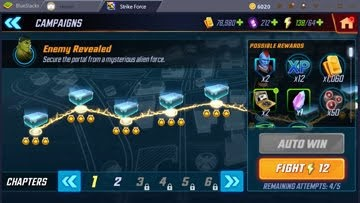 MARVEL Strike Force - Campaign Mode