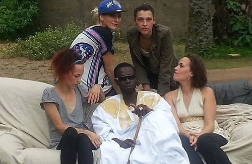 Unbelievable!!! Meet the Ivorian Man Who Married 4 White Women and Has 17 Children (Photo)