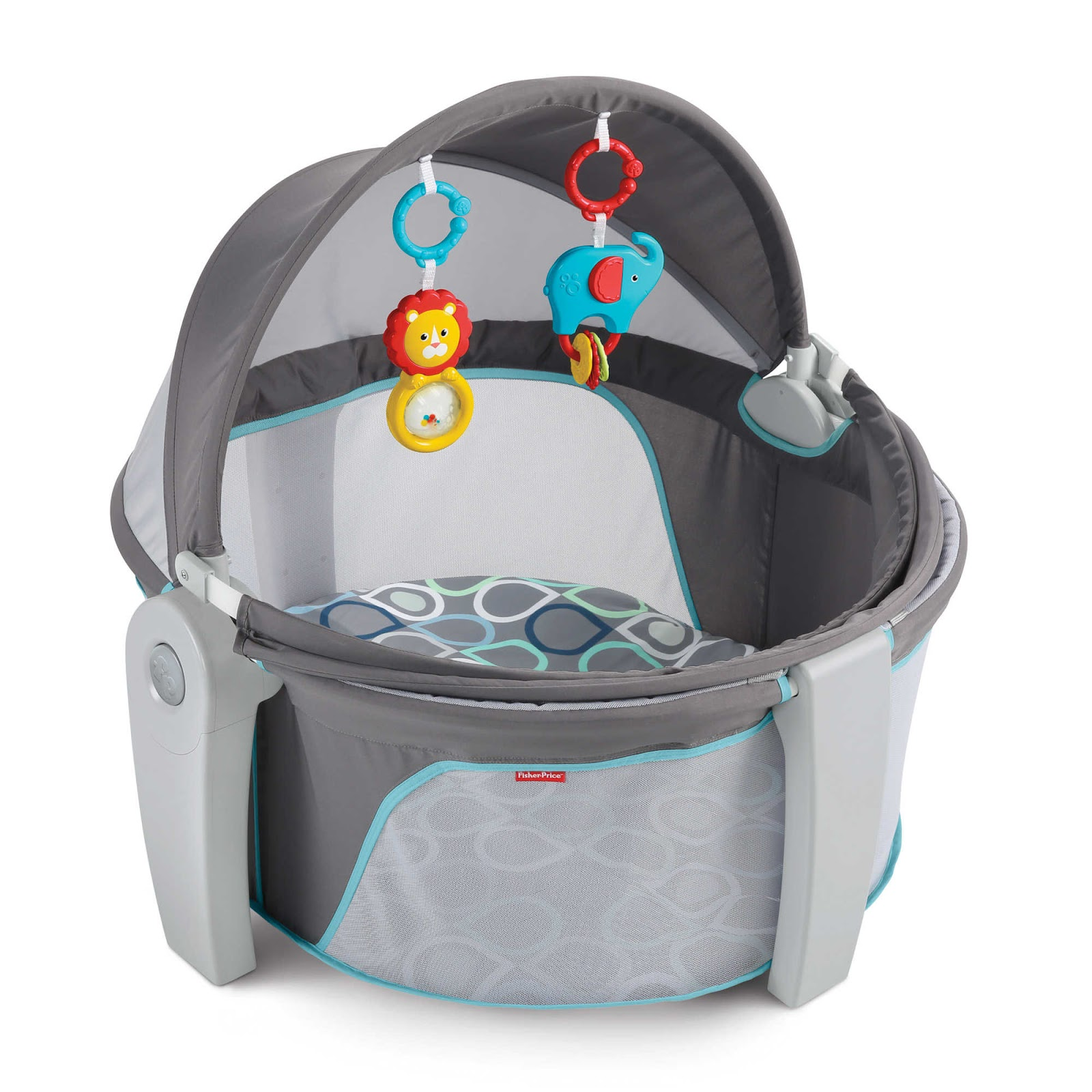 Fisher Price Releases On The Go Baby Dome Gear Files Block Prices Newest Playard Is Great For Both Indoors And Outdoors Canopy Extends Fully To Sunlight It Also Has An Easy Compact Fold