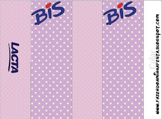 Lilac and Polka Dots: Free Printable Candy Bar Labels.