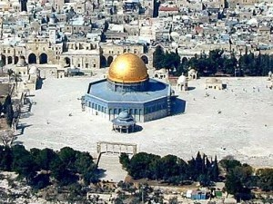 The Dome of the Rock LDS Temple Mount