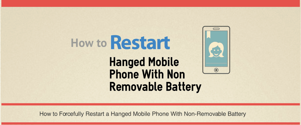 Restart a Non-Removable Battery