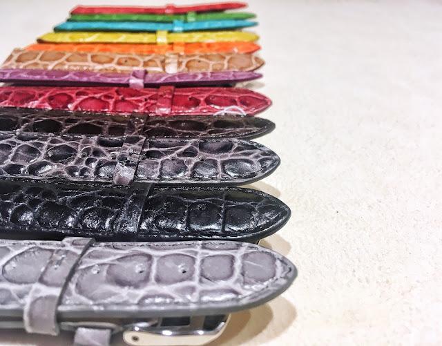 大阪 梅田 ハービスプラザ WATCH 腕時計 ウォッチ ベルト ベルト付替え ベルト交換 お洒落 ファッション デザイン アート 人気 トレンド リザード 革ベルト 公式 GPF Made in Italy