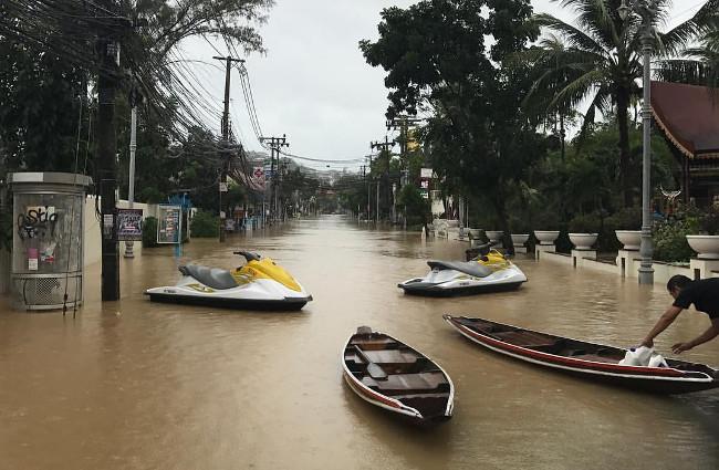 Потоп на Самуи в январе