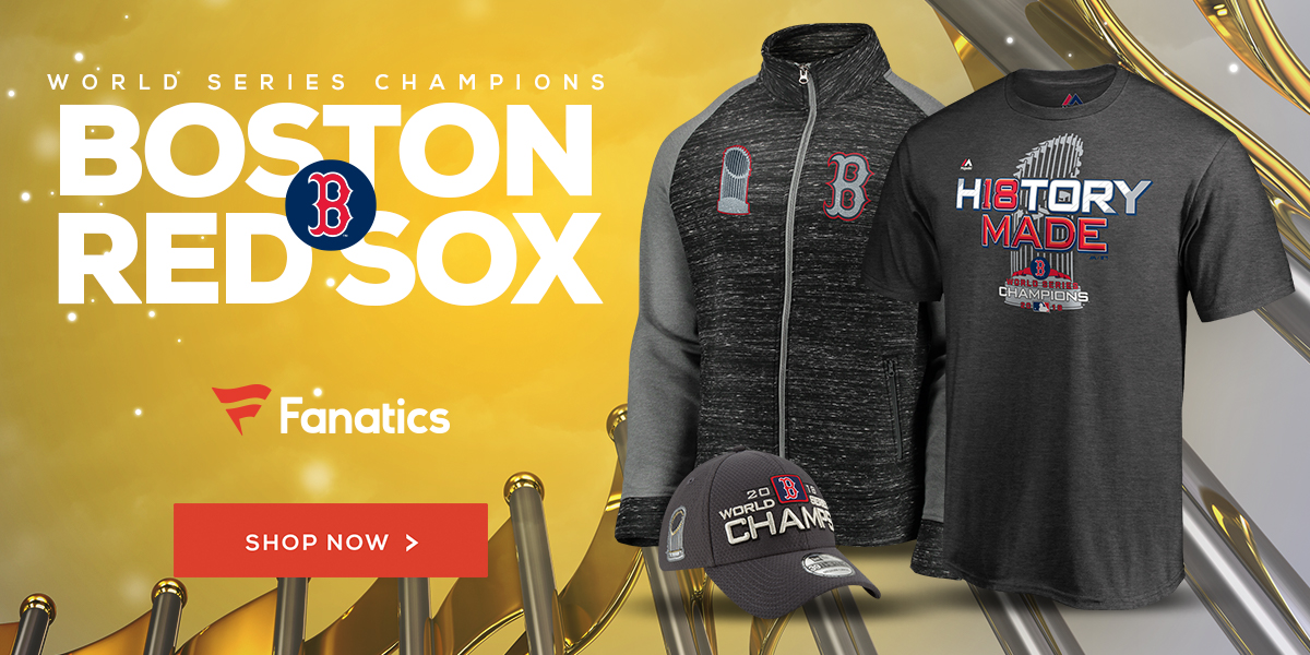 If you missed out on the 30% off savings yesterday on Red Sox World Series  Championship gear 9c51f7dc9d74