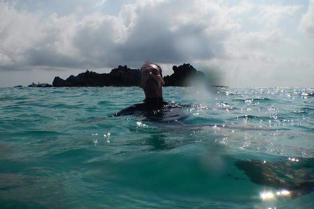 Gardner Bay swimming