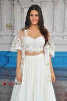 Telugu Actress Amyra Dastur Stills in White Skirt and Blouse at Anandi Indira Production LLP Production no 1 Opening  0127.JPG
