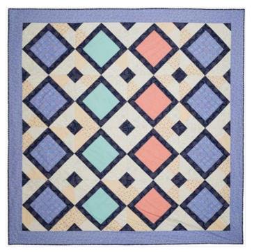 Kaleidoscope Festival Quilt by Shannon Fraser Designs