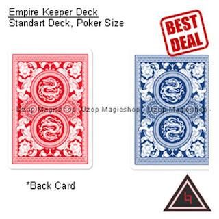 Jual kartu empire keeper remi poker kartu sulap
