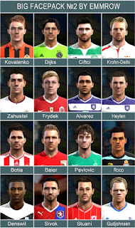 Big Facepack V2 2016 Pes 2013 By Emmrow