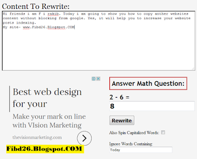 how to copy another website content to you site
