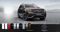Mercedes AMG GLS 63 4MATIC 2017 màu Nâu Citrine 796