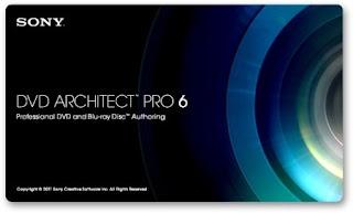Sony DVD Architect Pro 6.0 + Notas de ativação
