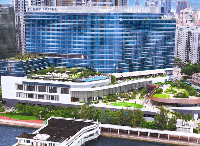 韓綜-新西遊記5-香港住宿飯店-嘉里酒店-KERRY HOTEL
