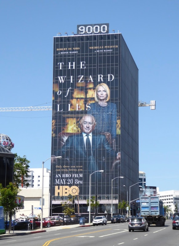 Wizard of Lies movie billboard