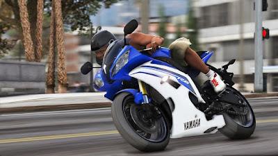 Download do mod da moto Yamaha YZF-R6 2015 para o jogo GTA 5 PC, Baixe esse mod gratis !